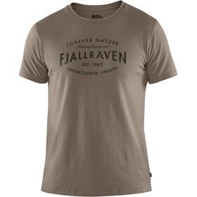 Fjällräven Est. 1960 T-Shirt Men driftwood